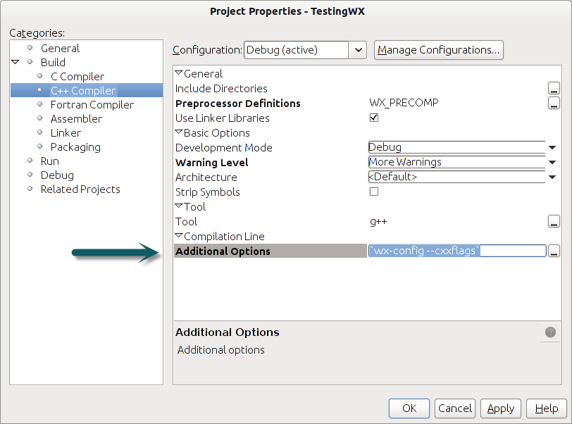 Compiling wxwidget applications in Netbeans - WxWiki
