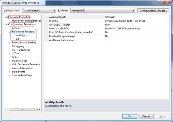 Microsoft Visual C++ NuGet - WxWiki